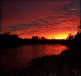 Sunset by heystranger