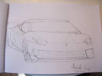 Lamborghini Aventador GT by Krisa20030920