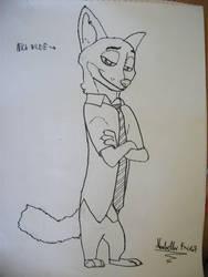 Nick Wilde Fan art by Krisa20030920