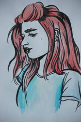 Watercolour by pingpongpunk
