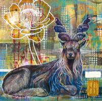 flora + fauna 4: Mtn. Goat by atomsanddust