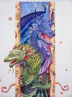 starburst dragons by atomsanddust