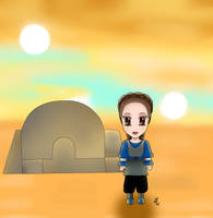 Chibi Padme : Tatooine Outfits by Mercantille
