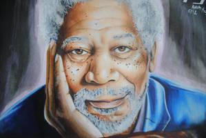 Morgan Freeman by animaddict
