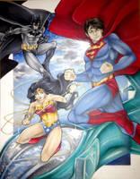 DC's Trinity by animaddict