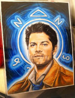 Castiel (Finished) by animaddict