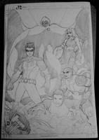 Teen Titans (Soft Pencils) by animaddict