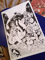 Teen Titans Inks by animaddict