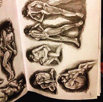 Figure Drawing in Sketchbook (2) by animaddict