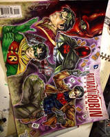 Red Hood Sketch Cover (Jason Todd) by animaddict