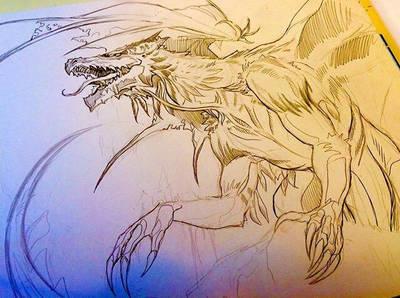 Fluffy Dragon   by animaddict