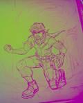 Deku Midoriya (MHA) by animaddict