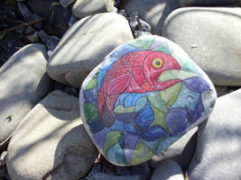 Caldey Island Rock by HerbalJabbage