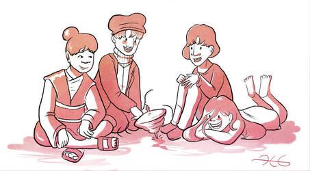 Kids by HerbalJabbage