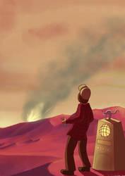 Rocket Crash by HerbalJabbage