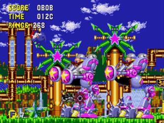Debug mode in Sonic CD by BrandonTheDarkAngel