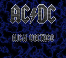 Custom Album Cover: AC/DC - High Voltage by rubenick