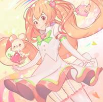 HalfBody CM : OC Airyuzu by HiroKattsuki