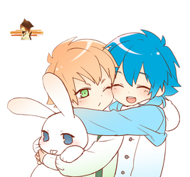 RENDER #3 Aoba and Noiz by Kamishio