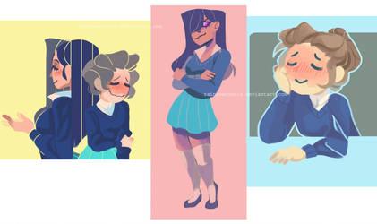 OC Doodles by RainbowCookiz