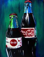 Coca-Cola Bottles by babydragon11