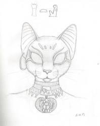 SketchBook13 Bast by Mystikkat