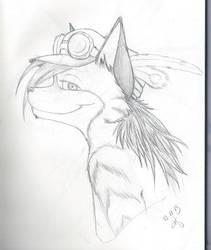 SketchBook16 Hyena by Mystikkat
