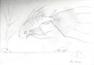 SketchBook18 Fish by Mystikkat