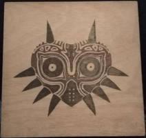 Majora's Mask 30x30 by Envorenn