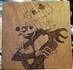 Jack Skellington and Zero by Envorenn
