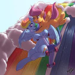 Rainbow Falls by kevinsano