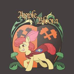 Apple Bloom Emblem by kevinsano