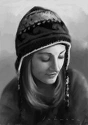 Portrait sketch by drawmyface