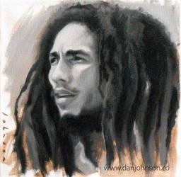 Bob Marley by drawmyface