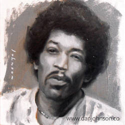 Jimi Hendrix by drawmyface