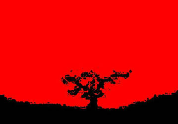 CherryBlossom3: burning. by Loupyboy