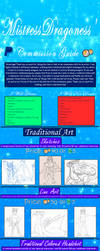 MistressDragoness' Art Commission Guide 2019 by MistressDragoness
