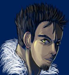 Speed Painting - Blue Rush by Syke-ko