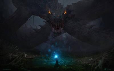 Dragon by YurevArt