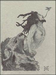 Redemption sketch by Nicholashelms111