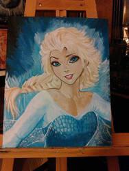Frozen paint by Nicholashelms111
