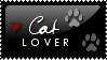 stamp :: cat lover by octobre-rouge