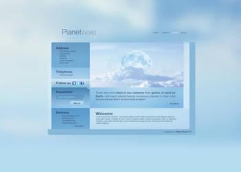 Planet World by Calabur