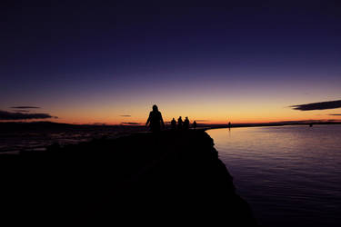 West Kirby Sunset by Calabur