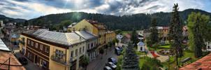 Muszyna Town Centre by Gundross
