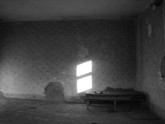 BW Devastated Place by Gundross