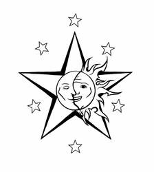 Celestial Tattoo by DarkMoon17