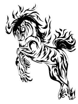 El Diablo Tattoo by DarkMoon17