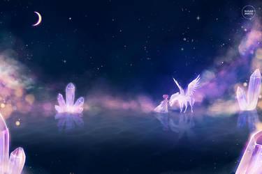 moonlit embrace. by sugarmints