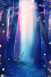 secret forest. by sugarmints